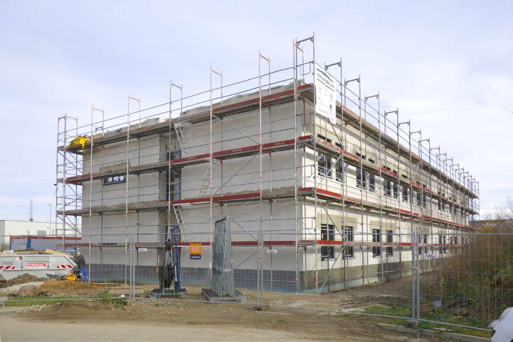 Richtfest am Neubau der Analysen Service GmbH
