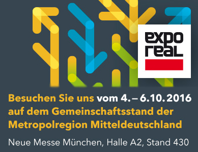 Logo der Expo Real 2016