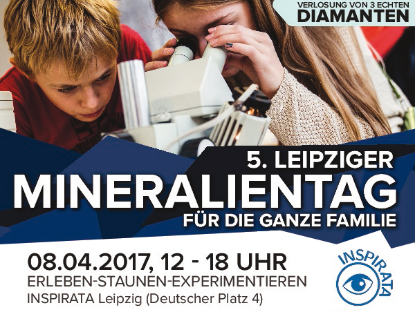 5. Leipziger Mineralientag Plakat