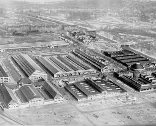 Historisches Bild der Alten Messe Leipzig