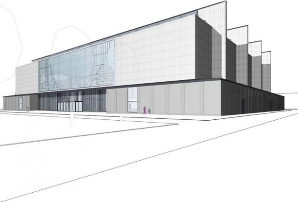 Visualisierung Fahrrad Stadler Halle 15